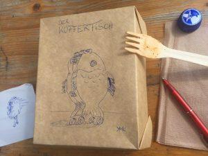 """Das Tier der Woche:  """"Der KofferFisch"""" von K.Malika Keller"""